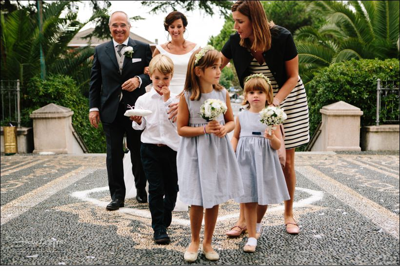 flower girls ingresso matrimonio wedding