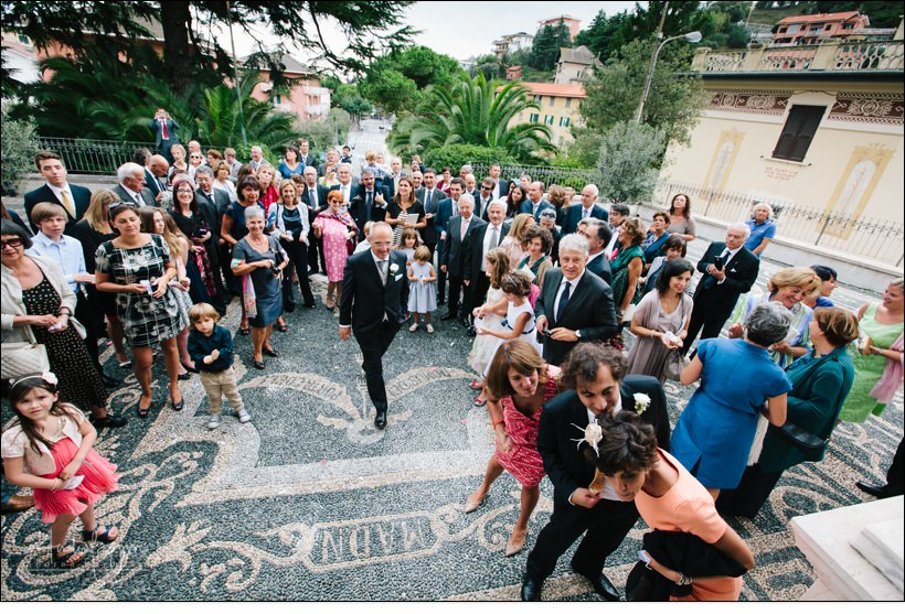 uscita sposi san michele celle ligure matrimonio