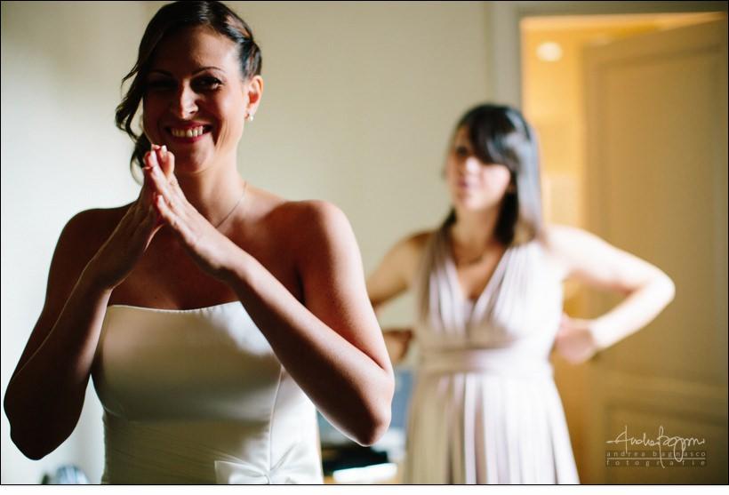 emozioni sposa reportage matrimonio shabby chic