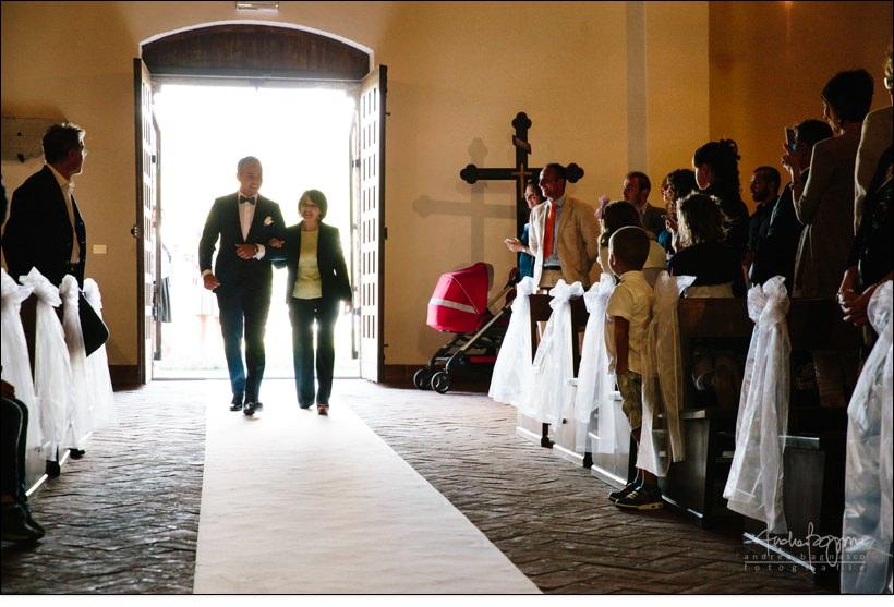ingresso sposo matrimonio extra muros millesimo