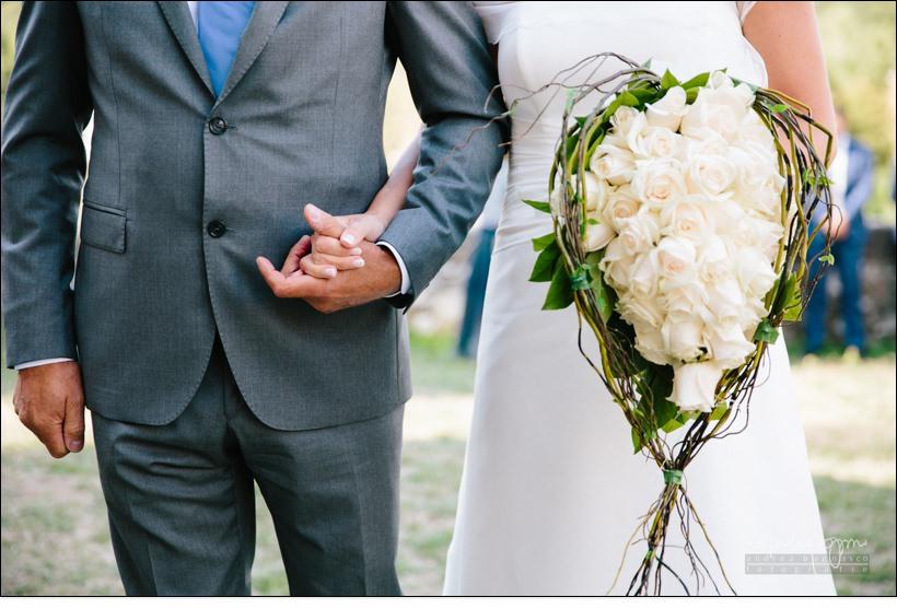 dettaglio bouquet reportage matrimonio shabby chic
