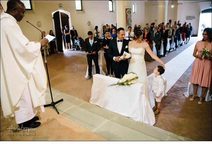paggetto anelli matrimonio
