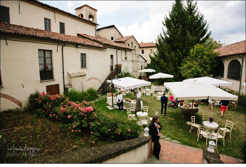 matrimonio shabby chic relais monastero