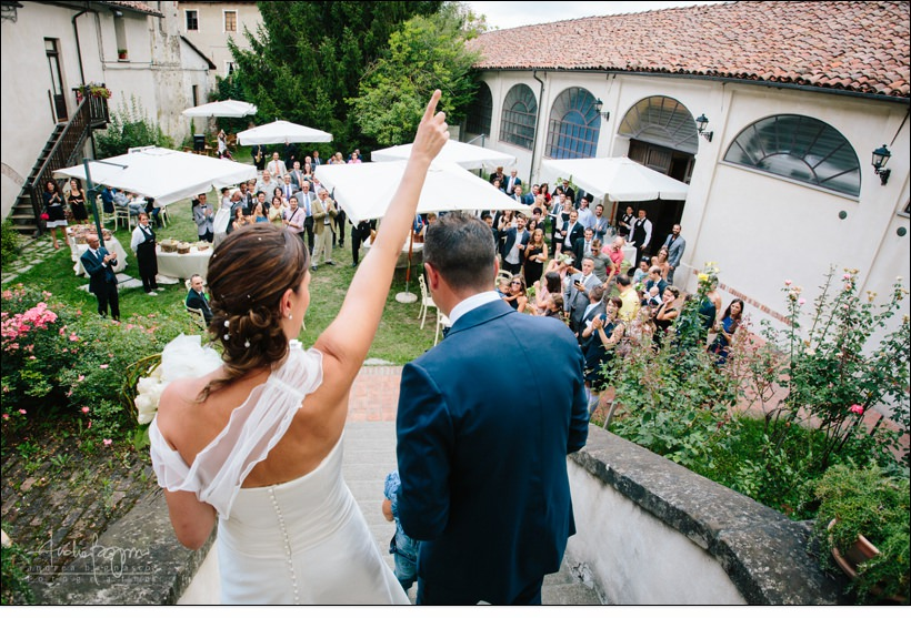 sposi matrimonio shabby chic relais monastero