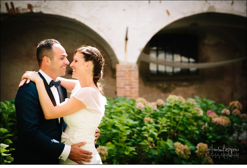 ritratto sposi matrimonio shabby chic relais monastero