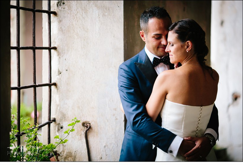 emotional shabby chic wedding italy