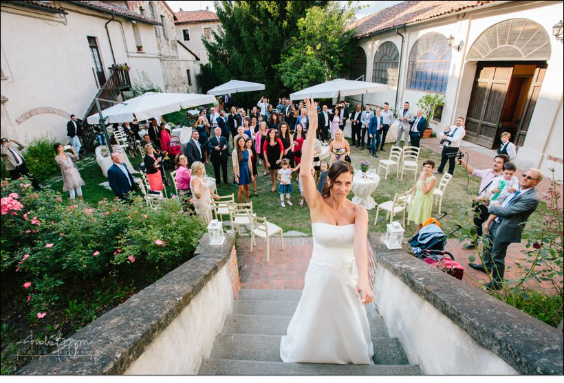italy shabby chic wedding