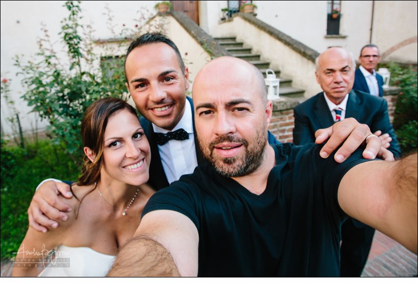 selfie fotografo andrea bagnasco