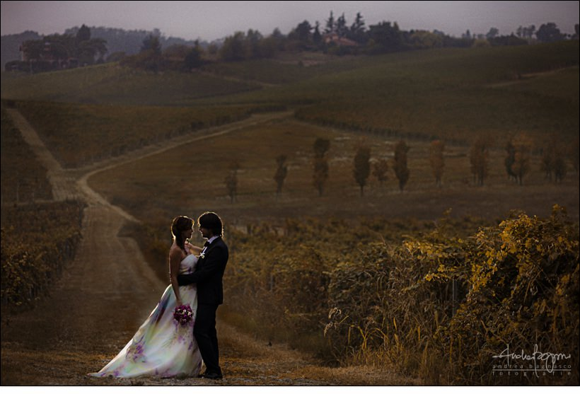 sposi matrimonio villa sparina winery wedding italy