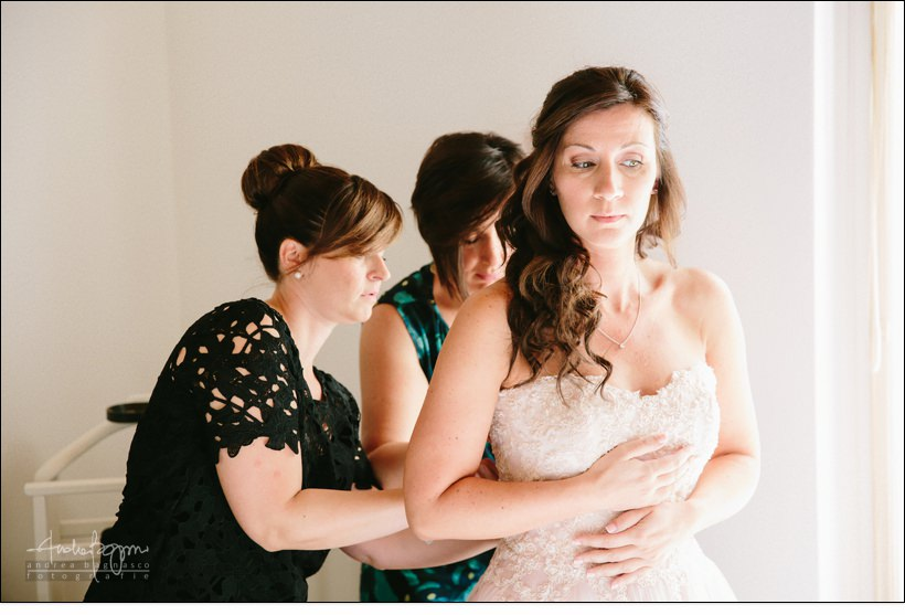 abito sposa matrimonio preparazione