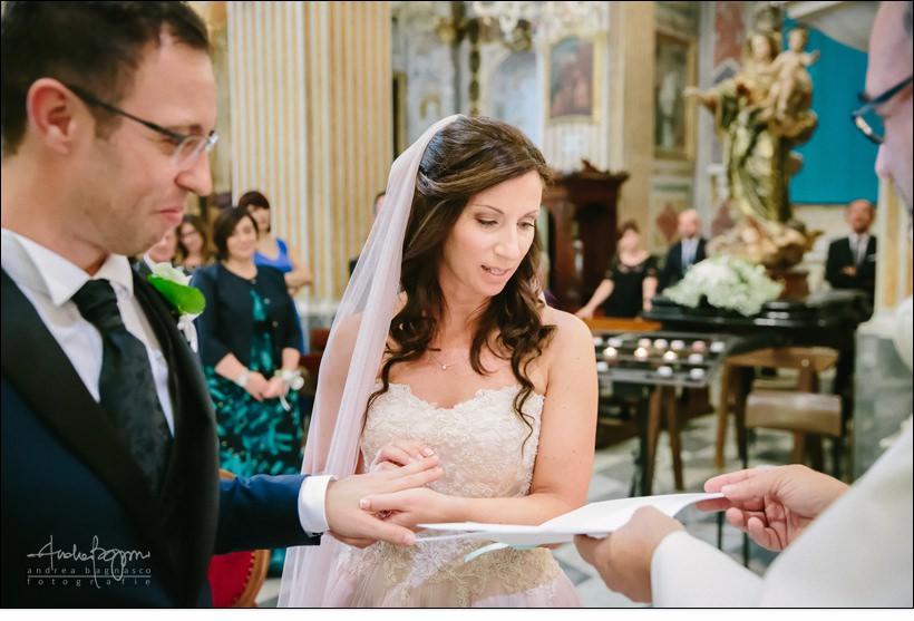 scambio anelli matrimonio san michele celle ligure