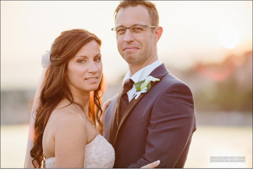 ritratto sposi matrimonio mare liguria