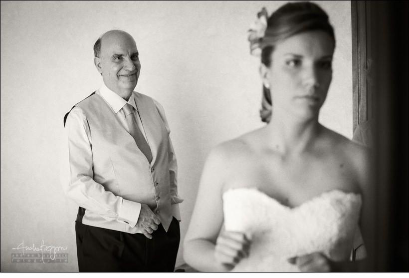 papà sposa matrimonio