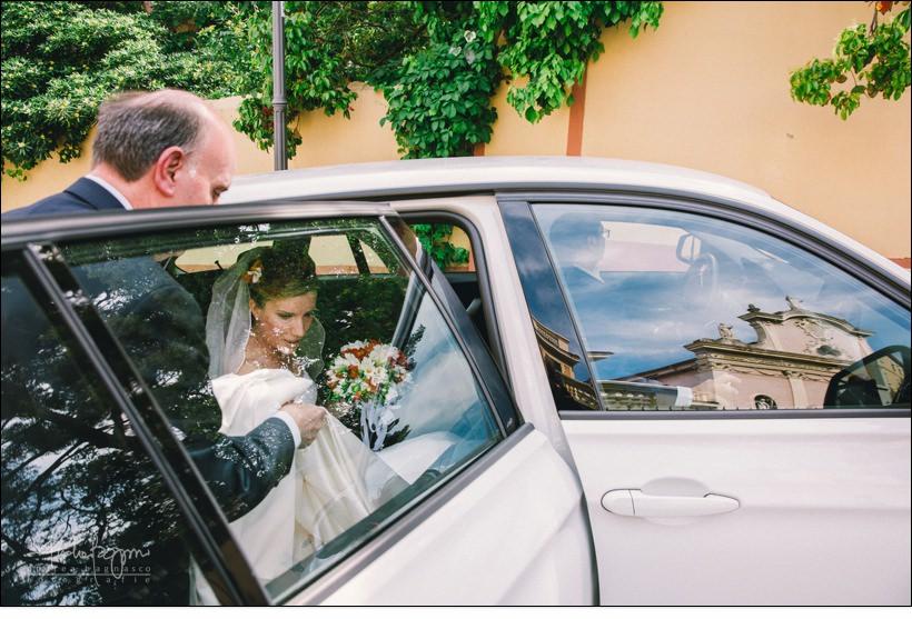 arrivo sposa matrimonio san nazario varazze