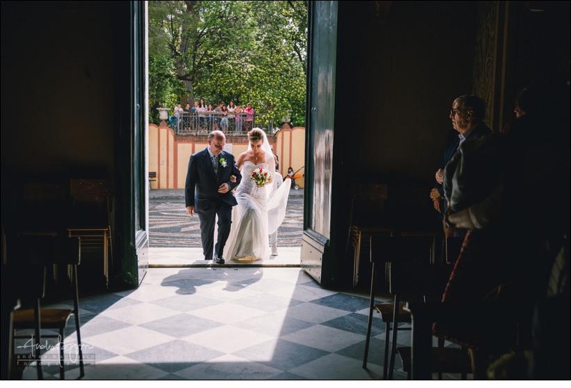 ingresso sposa matrimonio san nazario varazze