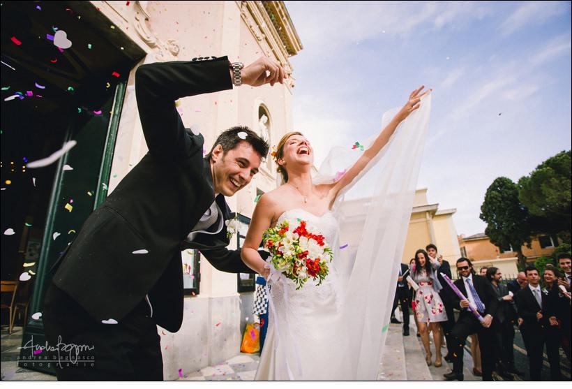 uscita sposi san nazario varazze