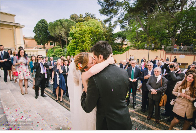 bacio sposi san nazario varazze
