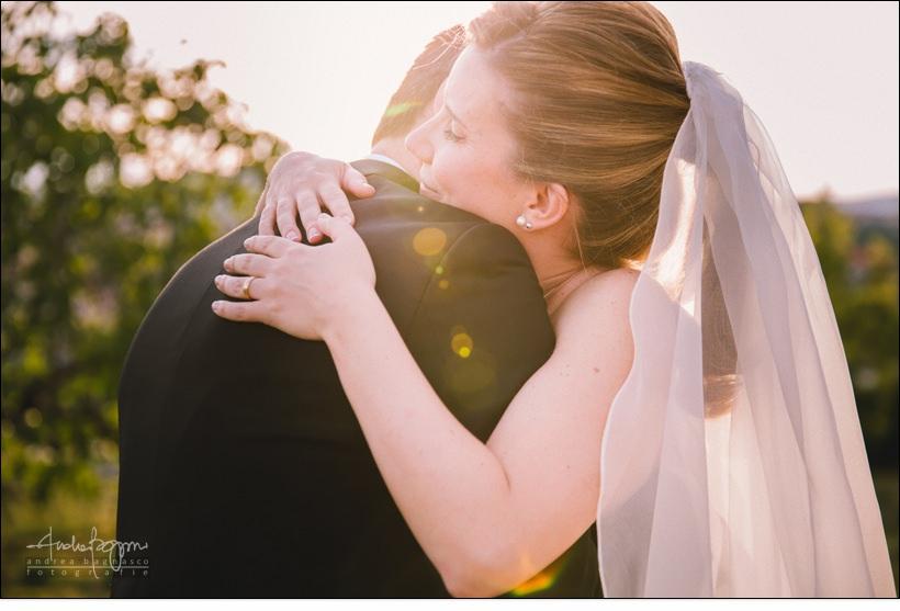 ritratto romantico sposi matrimonio villa lagorio