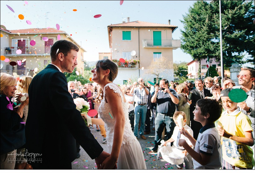 uscita sposi matrimonio reportage genova