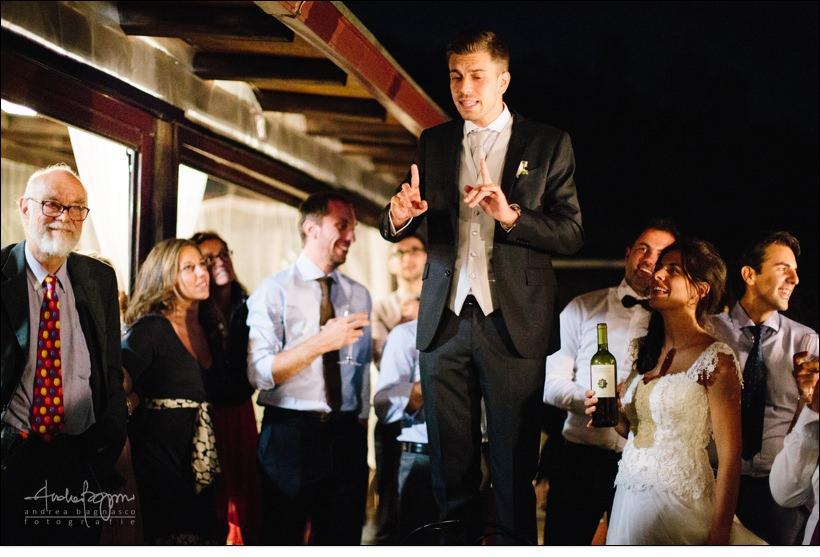 sposo ubriaco matrimonio agueta arenzano