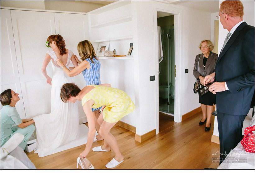preparazione sposa matrimonio tigullio