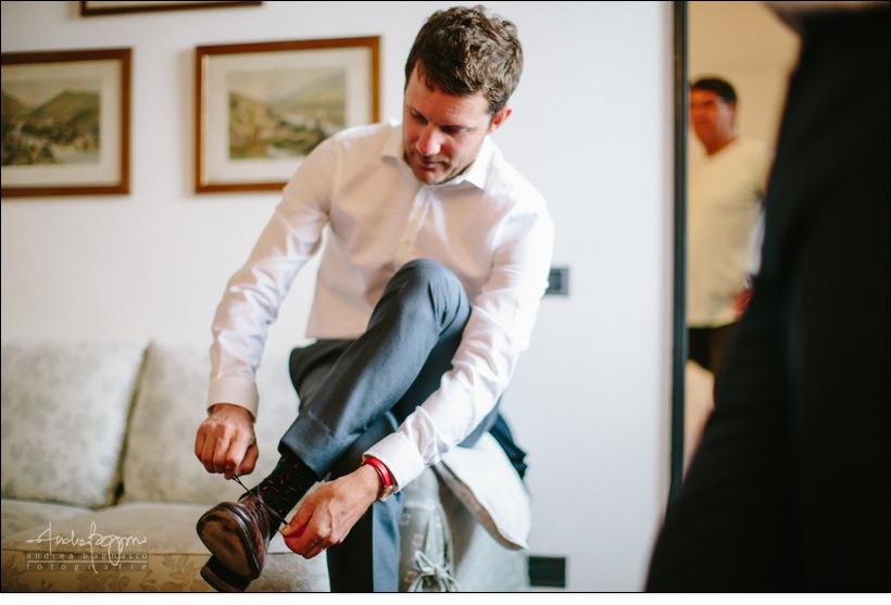 preparazione sposo santa margherita wedding