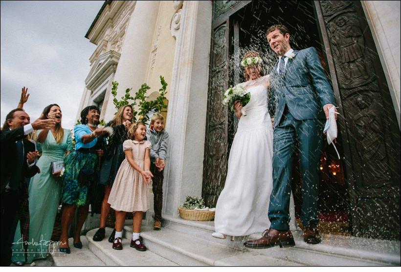 uscita sposi matrimonio san giacomo santa margherita