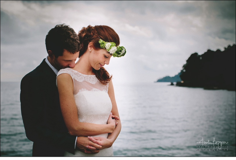 romantic wedding santa margherita italy