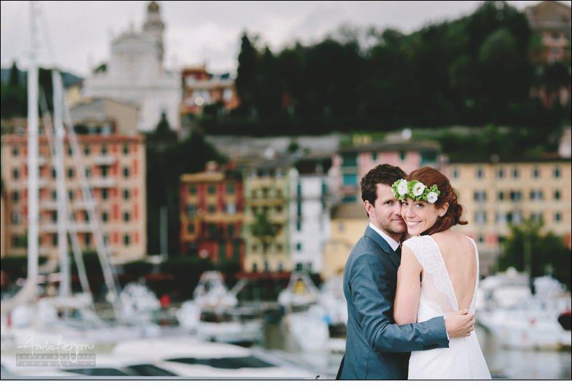 ritratto sposi santa margherita matrimonio