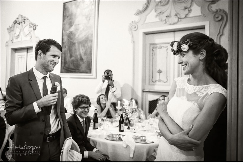 groom speech villa durazzo wedding
