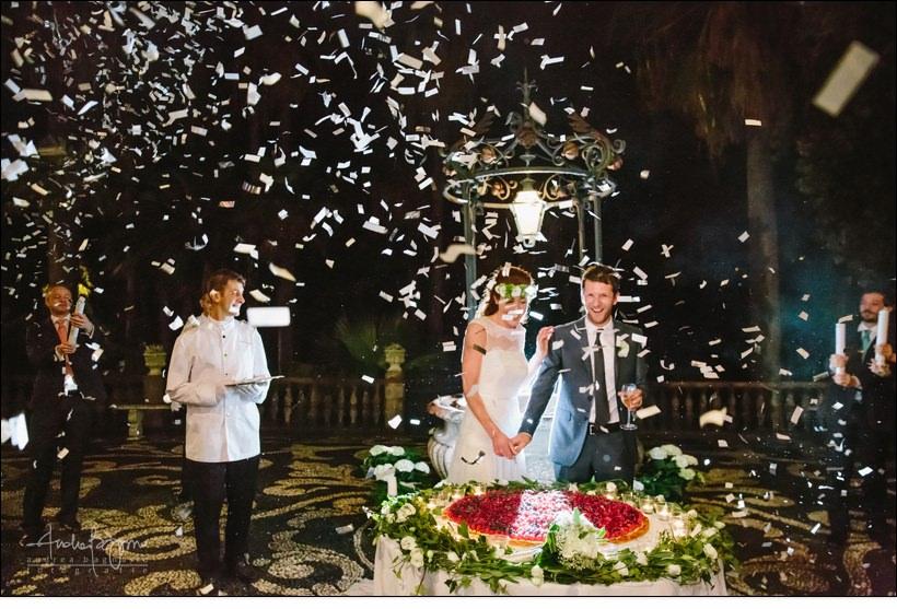 confetti villa durazzo wedding