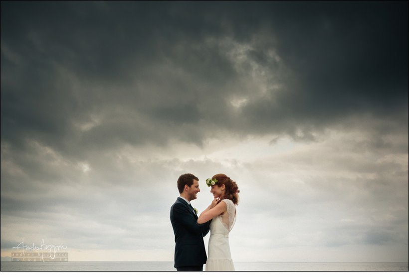 sposi villa durazzo santa margherita boho chic wedding