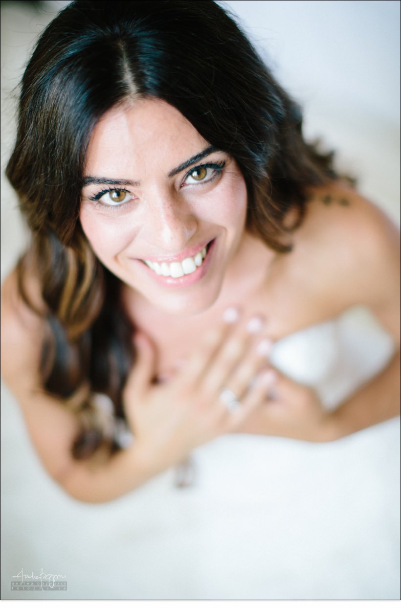ritratto sposa genova