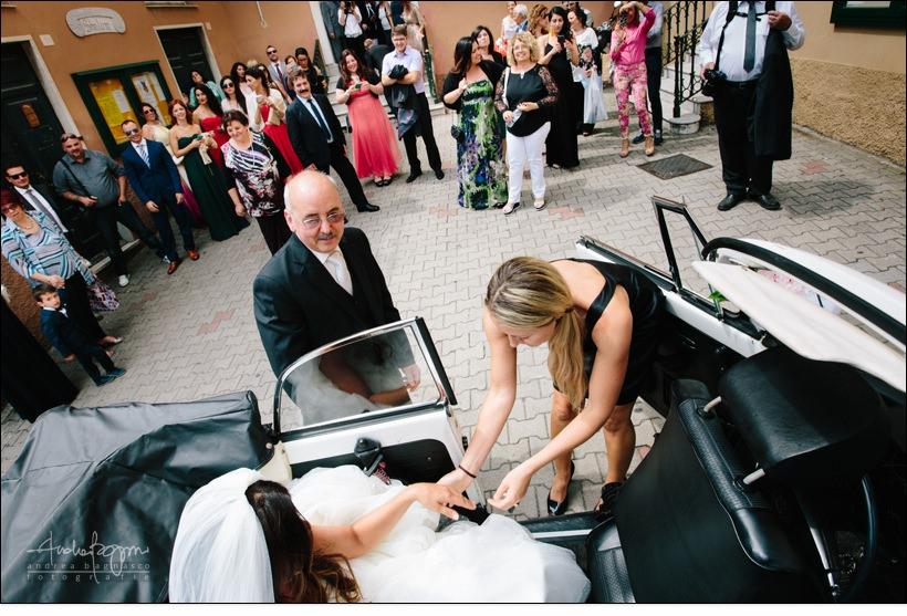 auto maggiolone matrimonio genova