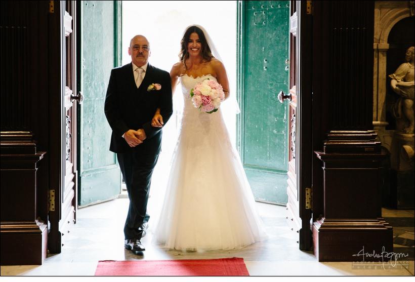 ingresso chiesa sposa matrimonio genova