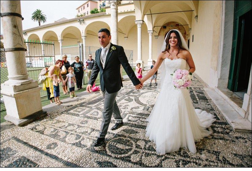 uscita sposi matrimonio genova certosa
