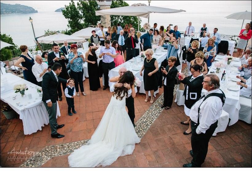brindisi matrimonio paradiso manu noli