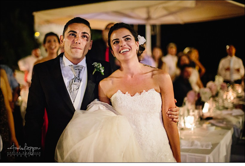 sposi matrimonio paradiso manu noli