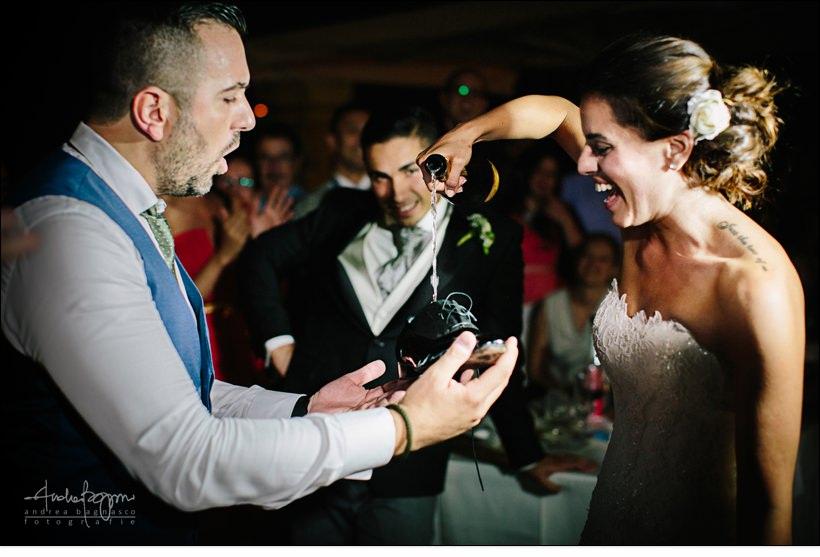 champagne matrimonio paradiso manu noli