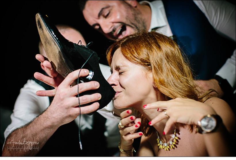 scherzo invitati matrimonio paradiso manu noli