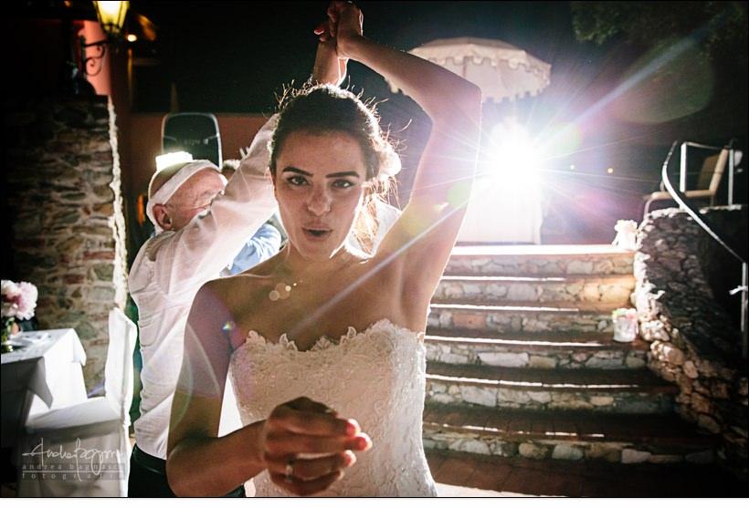 sposa balli matrimonio paradiso manu noli