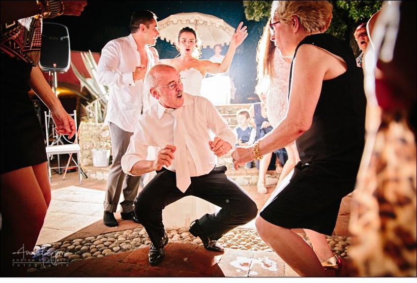 balli invitati matrimonio paradiso manu noli