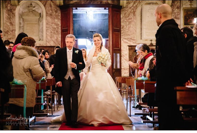 navata sposa matrimonio genova