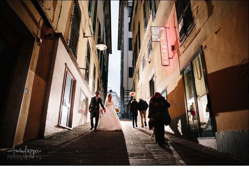 sposi matrimonio genova carruggi
