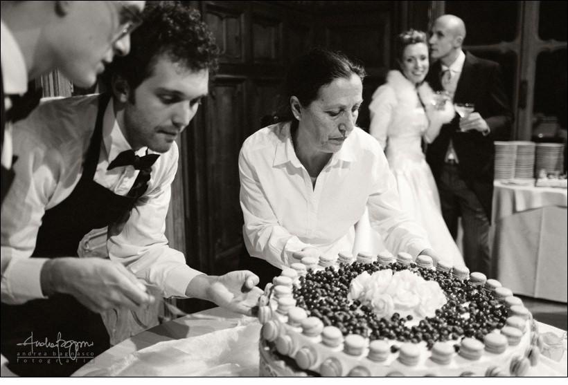 torta nuziale matrimonio villa serra genova