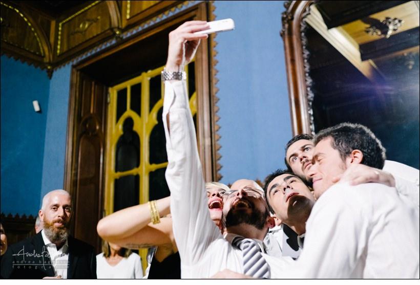 selfie invitati matrimonio villa serra