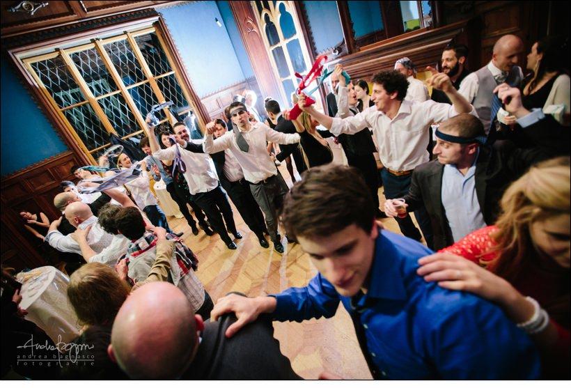 trenino balli matrimonio villa serra