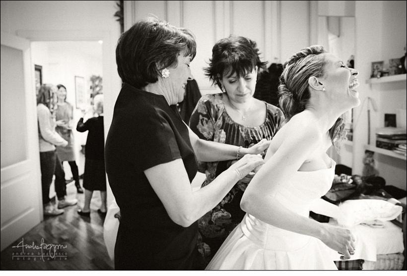 vestizione sposa abito matrimonio genova
