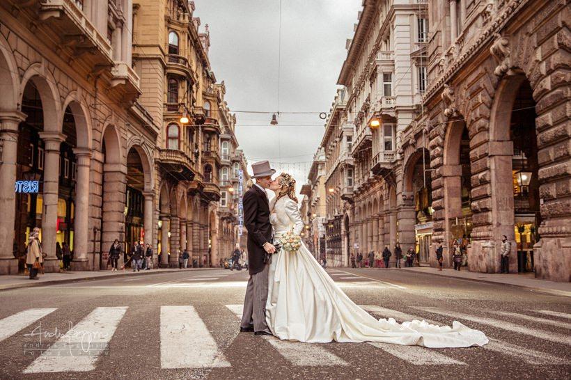 Winter Wedding in Villa Serra, Genova | Rossella + Christian