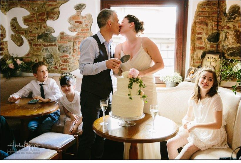 taglio torta matrimonio shabby chic sarah tognetti